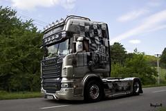 "Scania R II Topline "" R.U. ROUTE / NOSTALGIA "" (SK) (magicv8m) Tags: truck transport trans lkw zin tir 2015 sraz"