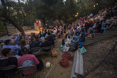 Once Upon a Canyon Night - Paula Poundstone - 8/23/15 (TreePeople) Tags: night los funny comedy angeles mark performance canyon foundation entertainment once nightlife amphitheater taper upon coldwater treepeople oucn