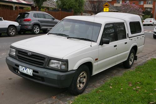 1997 Mazda Bravo B2600 DX 4-door utility