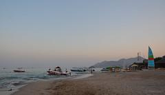 (darkleen) Tags: ocean sunset sun beach uae eid fujairah