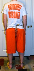 DSC_2166c (bob.laly) Tags: uniform chain jail shackles padlock handcuffs prisoner jumpsuit inmate