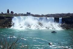 """American Falls"" (Ian E. Abbott) Tags: newyork ontario film river niagarafalls waterfall americanfalls niagarariver bridalfalls colorfilm travelphotos colornegativefilm 35mmcolorfilm vacationpictures"