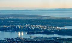 Vancouver (daveleephotography.com) Tags: sun port harbour highrise vancouvercanada explorebc ilovebc viewformgrousemountain