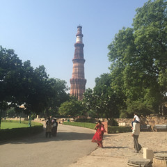 .Visit to Qutab Minar. Qutab Minar dated from the Qutbud-Din... (Total TaiTai) Tags: new india delhi din minar ud qutab aibak cjindia