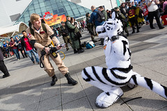 MCM-LDN-2015-7057 (Mikepaws) Tags: uk greatbritain autumn england london film television costume furry october comic cosplay unitedkingdom manga culture games entertainment fantasy convention movies sciencefiction popculture fancydress con excel mcm 2015 internetculture