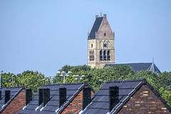 Martinikerk Tower (fotofrysk) Tags: view nederland spire roofs kerk friesland fryslan balconyview bolsward dsc1855 martinichurch bolsert nikond7100 augsept2015 fryslanvisit