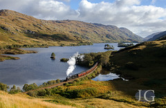 Black 5 No. 45407 'The Lancashire Fusilier' - Loch Eilt Causeway (Jonathon Gourlay) Tags: