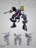 Mech Details (burningblocks) Tags: robot lego military walker future scifi mech moc