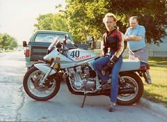 Suzuki Katana (NESR 1978) Tags: vintage manitoba motorcycle suzuki katana northend nesr nesr1978