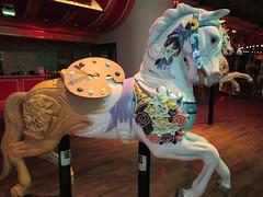 RCCL Painted Horse (Nancy D. Brown) Tags: horse carousel royalcaribbean paintedhorse woodenhorse carouselhorse oasisoftheseas