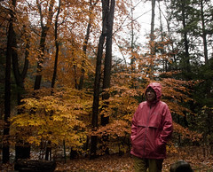 Chris soaked in a pink raincoat (karenchristine552) Tags: trees vacation usa selfportrait philadelphia nature moss woods nikon hiking pennsylvania pa worldsendstatepark worldsend loyalsockcreek selfie sullivancounty wesp civilianconservationcorps endlessmountains nationalregisterofhistoricplaces loyalsock loyalsocktrail nikond80 loyalsockstateforest karenchristinehibbard worldsendstateparkfamilycabindistrict christinehibbard karenchristine552 worldsendfamilycabindistrict chrishibbard kchristinehibbard karenchristine552clay