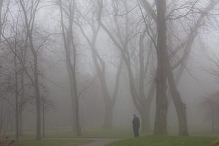 fog and the smoking man