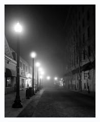 Wall Street, Asheville, NC (Joe Franklin Photography) Tags: longexposure blackandwhite bw night blackwhite asheville streetphotography wallstreet joefranklin almostanything landofthesky wwwjoefranklinphotographycom