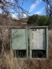 Serious sprinkler system (cmrowell) Tags: california sprinkler controls griswold programer openspacepreserve upperlasvirgenescanyon