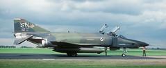 RF-4C, SW 64-1009, 16 TRS, Alconbury AFB, 25 July 1986 (Anne Fintelman) Tags: usaf rf4c rafalconbury 16trs sw641009 alconburyafb 16tacticalreconnaissancesquadron