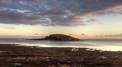 Looe Island at dusk (Baz Richardson (catching up again!)) Tags: cornwall looe looeisland stgeorgesislandlooe islands rockpools coast naturereserves