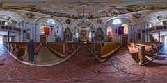 Pfarrkirche Going am Wilden Kaiser, Tirol (360x180) (ako_law) Tags: 360x180 panorama equirectangular churchinterior church kirche kircheninnenraum goingamwildenkaiser going tirol tyrol canoneos6d samyang14mm samyang14mmf28 nodalninja3markii nodalninja ptgui