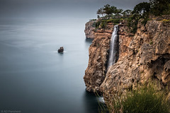 The end (Anthony Plancherel) Tags: waterfall turkey turkiye canon canon70d canon1585mm seascape water bay mediterranean coast coastal coastline sea seashore longexposure blurredwater cloudblur grey sky greyclouds greysky cliff cliffface seacliffs bush trees park falez falezpark elalesi outdoor landscape photography landscapephotography travelphotography wow