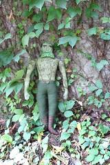 Green Man (Mimi K) Tags: greenman mandoll handmadedoll