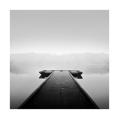 NO FISHING (Nick green2012) Tags: misty morning long exposure blackandwhite square jetty