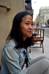Chhay! (Chlo Pichouron) Tags: france cambodge cambodgienne franaise student tudiante nice niceville pretty girl femme jeune jeunesse free libert libre young vif dream dreams rverie