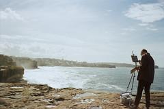 Artist (jayolz) Tags: konicapop kodakproimage100 35mm konica beach surf landscape ishootfilm film kodak