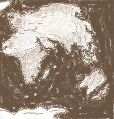 Middle-Earth vs. Eurafrasia (Haerangil) Tags: middleearth endor plate tectonics fourth age