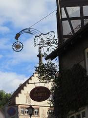 Schiltach-Kinzigtal  -  Schwarzwald /Black Forest (thobern1) Tags: schiltach kinzigtal schwarzwald blackforest gasthausschild sonne