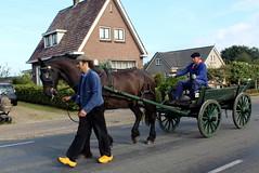 The Flaeijel Festival parade (Davydutchy) Tags: flaeijelfeest flaeijel festival feest dorpsfeest nijhoarne nieuwehorne âldhoarne oudehorne fryslân friesland frisia frise nederland netherlands niederlande paysbas holland country life platteland boer farmer bauer fermier paysan agricultural community hynder horse paard pferd konj hest ĉevalo കുതിര caballo лошадь kůň horsedrawn paardenwagen bespannen wagen wagon cart kar fries friesian frisian