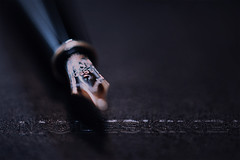 moleskine (koolandgang) Tags: notebook pen fountainpen 4810mnib nikond700 nikonsb900 nikon105vrmicro nikonsb700 dolmakalem kalem moleskine defter