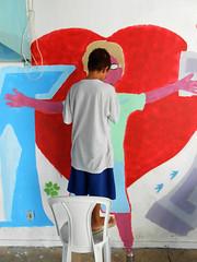 PROJETO HIP HOP SEM FRONTEIRAS - TRAOS LIVRES - UNIDADE CIP SO BENEDITO - SEMANA DA CRIANA - 2016 - OFICINA DE GRAFFITI (BENET - BNT) Tags: semana da criana hip hop sem fronteiras traos livres cip so benedito graffiti arte comunho celebrao 2016 benet natty caueta scio educativo oficina