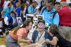 Dawes, Dean 20 Gold (indyhonorflight) Tags: ihf indyhonorflight oct roben bellomo 20 public2021 homecoming kissing dawes dean gold