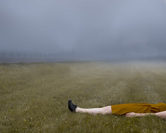 Grounded (Patty Maher) Tags: grounded flattened surreal conceptual fog artlibre