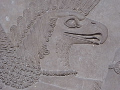 Eagle-Headed Genie (Aidan McRae Thomson) Tags: nimrud relief sculpture ancient assyrian mesopotamia britishmuseum london