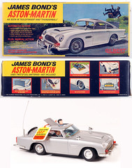 1965 James Bond 007 Aston-Martin car (Tom Simpson) Tags: astonmartin 1965 1960s jamesbond 007 bond car remotecontrol remotecontrolcar rc toys vintage vintagetoys