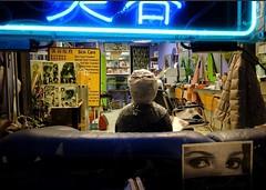 Hair Salon in Chinatown - Toronto (Anne J Gibson) Tags: beautyshop chinatown toronto torontostyle huffpostcanada fujifeed fujilove xt2 torontolife torontofashion torontostreetphotography everybodystreet storyofthestreet womeninstreet lensculturestreets streetphotographers streetphotograpy