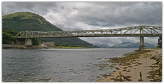 Ballachulish Bridge.. (Harleynik Rides Again.) Tags: ballachulishbridge scotland loch travel harleynikridesagain nikondf