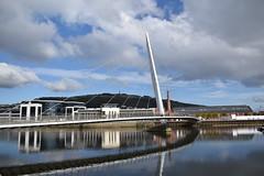 Bridge Reflection (Cloud070) Tags: bridge marina swansea wales uk water reflection acqua riflesso ponte