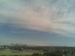 Sydney 2016 Oct 21 09:13 (ccrc_weather) Tags: ccrcweather weatherstation aws unsw kensington sydney australia automatic outdoor sky 2016 oct morning