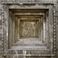 Coffer from the ceiling of the north porchof the Erechtheion (sixthland) Tags: ancient antiquity britishmuseum carved greek marble rx100m2