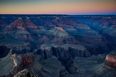Grand Canyon (M@ H) Tags: grandcanyon nationalparks arizona coloradoriver sunset smoke lightroom d810 matthalvorsonphotography