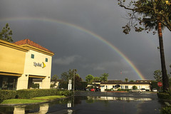Rainbow In SoCal (evaxebra) Tags: