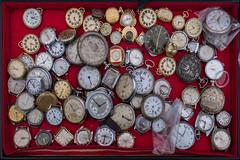 What's the time? (alxfink) Tags: clock time red vienna naschmarkt fleamarket watch lumix