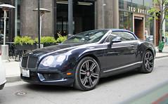 Bentley Continental GTC V8 (SPV Automotive) Tags: bentley continental gtc v8 convertible exotic sports car blue