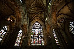 The High Kirk of Edinburgh (chris.ph) Tags: stgilescathedral edinburgh cathedral scotland architecture stainedglass window canon6d ef1635mmf4lisusm