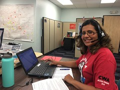 Arizona Phone Bank (CWA Union) Tags: politics az phonebank d7