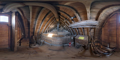 Bin Floor of Jill Windmill (m1ke_a) Tags: windmill southdowns nationalpark historicbuilding sussex machinery wooden flour grain
