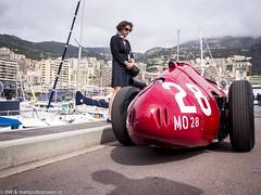 2016 Monaco GP Historique: Maserati 250F (8w6thgear) Tags: 2016 monaco grandprix historique monacogphistorique paddock maserati 250f formula1 f1 woman lady harbour boat