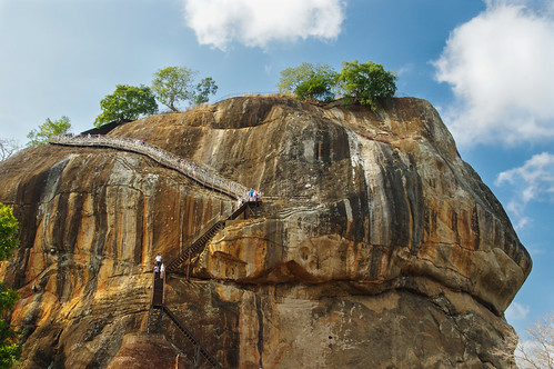 Climbing Lion rock fortress