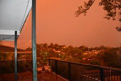 After the storm ---- DSC_4038 (harry de haan) Tags: harrydehaan weather storm brisbane queensland australia sunset orangeglow